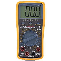 Comprar Multímetro Digital com Teste de USB e Rede RJ11 RJ12 RJ45 NMD Multiteste-Nagano
