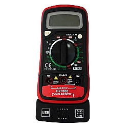 Comprar Multímetro Digital com Teste de Rede e Telefonia - HY6300-Lee Tools