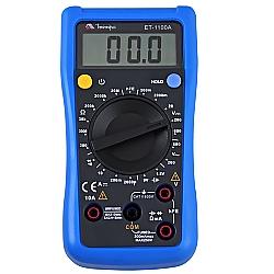 Comprar Mult�metro Digital Teste Bateria - ET1100A-Minipa