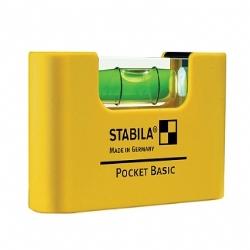 Comprar N�vel de bolso 1 bolha - BASIC-Stabila