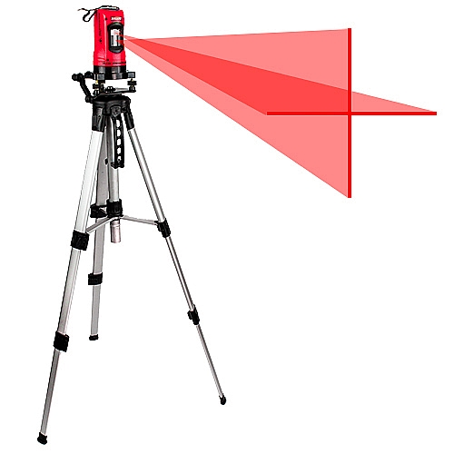 Comprar N�vel � Laser Horizontal e Vertical Girat�rio de 360� - NNL-Nagano
