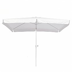 Comprar Ombrelone Retangular , Diâmetro 2,00 m x 3,00 m - Branco-Bel Fix