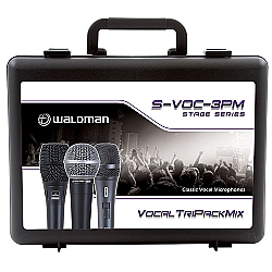 Comprar Pack Stage S-VOC-3PM  com 3 Microfones e 3 Cachimbos Share Tweet Share-Waldman