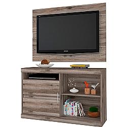 Comprar Painel e Rack Combo Fenix Teca Wood-Germai