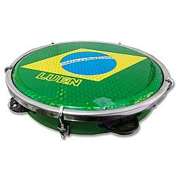 Comprar Pandeiro Brasil 12, ABS, Corpo Verde-Luen