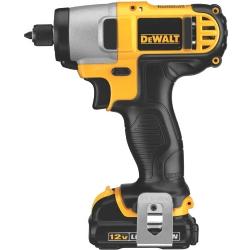 Comprar Parafusadeira de impacto a bateria 12 volts 1/4 - DCF815S2-Dewalt