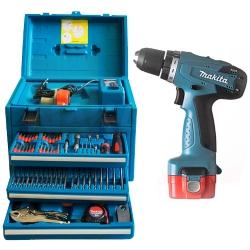 Comprar Parafusadeira / Furadeira � bateria 9,6 volts - 6261DWPETC-Makita