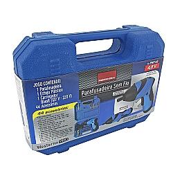 Comprar Parafusadeira Profissional sem Fio, 4,8V, 44 Acessorios, Azul - PRF02-Western