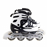 Patins All Style Street Rollers Tamanho 38-41- Preto