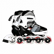 Patins Roller Semi Pro Cinza 40600141 m 35 - 38