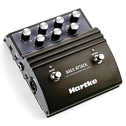 Comprar Pedal de Efeito para Baixo Hartke Bass Attack com Direct Box-Hartke