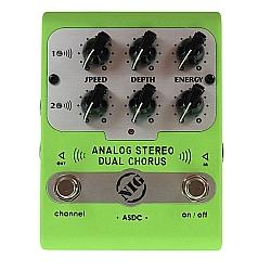 Comprar Pedal Nig ASDC Analógico Dual Chorus com 3 Controles em cada Canal-Nig