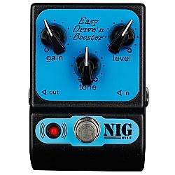 Comprar Pedal Nig PED Easy Drive e Booster com Bateria de 9V-Nig
