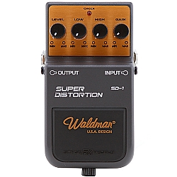 Comprar Pedal para Guitarra, Super Distortion Mod. SD-1-Waldman