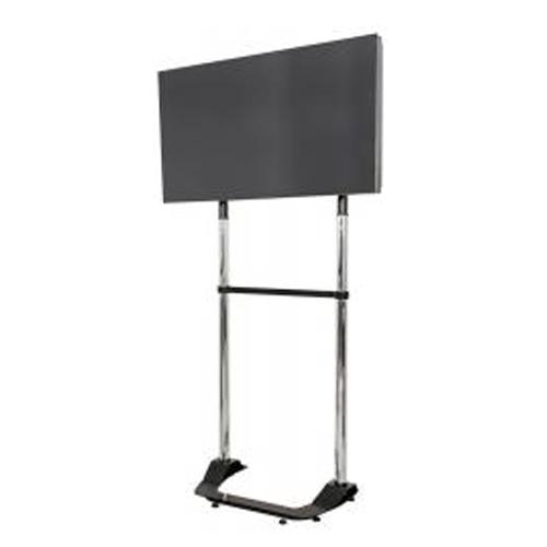 Pedestal para Tv de 32 a 60 com Ajuste de Altura Cromado - Multivisao