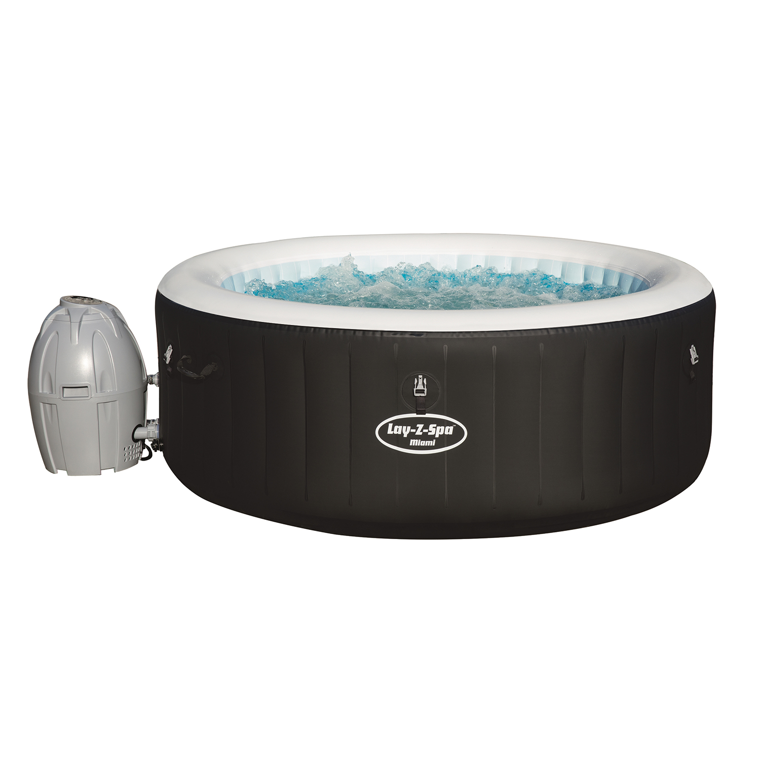 Piscina lay z spa miami airjet 669 litros x 66cm - Lay z spa miami ...