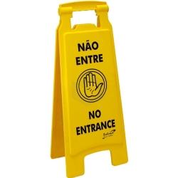 Comprar Placa sinalizadora  Não Entre - PL2001-Bralimpia