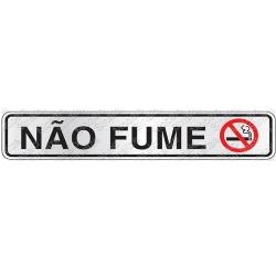 Comprar Placa sinalizadora NÃO FUME-Sinalize