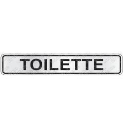 Comprar Placa sinalizadora Toilette 5 x 25 cm-Sinalize