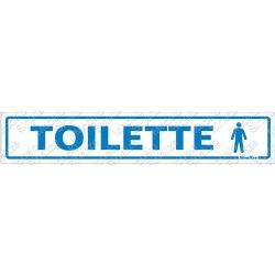 Comprar Placa sinalizadora Toilette Masculino 5 x 25cm-Sinalize