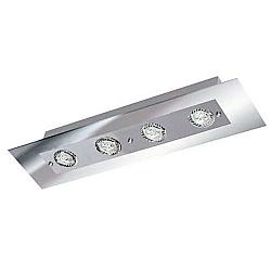Comprar Plafon Retangular Angular Espelhado 4 L�mpadas Soquete gu 10 grafite-Pantoja e Carmona