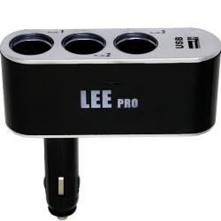 Comprar Plugue automotivo 3 saídas 12v-Lee Tools