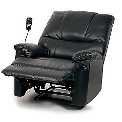Comprar Poltrona do Papai Massageadora - 4 modos de massagem, 3 intensidades - Cor Preta - Bivolt E-8145RM-Bragança