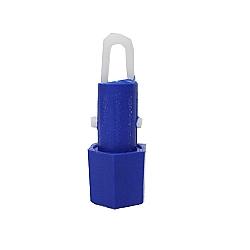 Comprar Ponteira hexagonal azul com mola - POHA78-Bralimpia