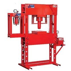 Comprar Prensa hidr�ulica manual 100 toneladas com auxiliar de 15 toneladas-Skay