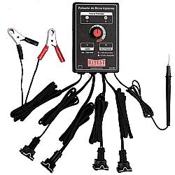 Comprar Pulsador de Bicos Injetores com Teste de Polaridade, 12V, Controle de RPM Via Potenciômetro - KA-003-Kitest