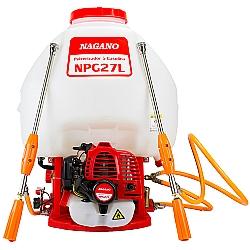 Comprar Pulverizador costal a Gasolina 25,6cc 27 Litros 2 lanças - NPG27L-Nagano