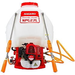 Comprar Pulverizador costal a Gasolina 25,6cc 27 Litros 2 lan�as - NPG27L-Nagano