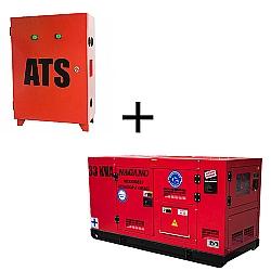 Comprar QTA Exclusivo para Gerador de energia ND33000ES3 + Gerador de Energia a diesel trifásico 33 KVA Partida Elétrica Silenciado Cabinado Motor Nagano - ND33000ES3-Nagano
