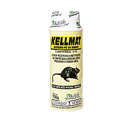 Comprar Raticida em Pó KellMat, 200 gramas - COD35-Kelldrin