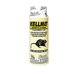 Comprar Raticida em P� KellMat, 200 gramas - COD35-Kelldrin