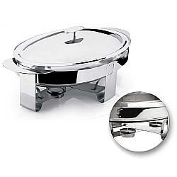 Comprar Rechaud Oval 3 Litros Produzido em Aço Inox Premium-Hercules