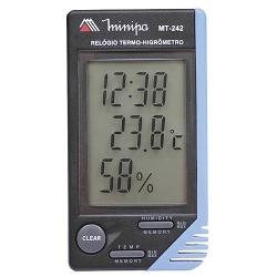 Comprar Relógio Termo-Higrômetro Temperatura Interna MT-242-Minipa