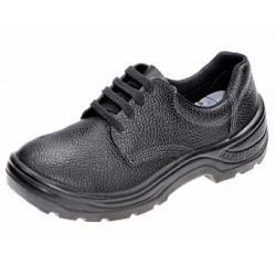 Comprar Sapato de couro com solado em poliuretano com cadar�o e com bico de a�o-Marluvas