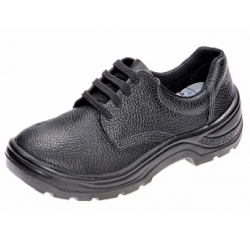 Comprar Sapato de couro com solado em poliuretano com cadarço e com bico de aço-Marluvas