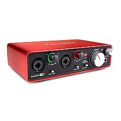 Comprar Scarlett 2I2 2nd Gen Interface de Áudio-Focusrite