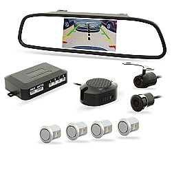 Comprar Sensor de Estacionamento com Retrovisor, LCD e  Câmera de Ré-H-Tech