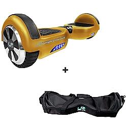 Comprar Skate Elétrico 6.5 Ouro - Bivolt + Bolsa para Transporte Skate Elétrico 6.5-Urban Rover