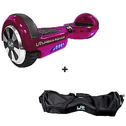 Comprar Skate Elétrico 6.5 Rosa - Bivolt + Bolsa para Transporte Skate Elétrico 6.5-Urban Rover