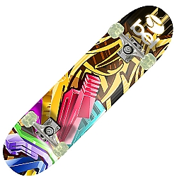 Comprar Skate Semi-Profissional Modelo 4018 Geometrico Grafitti-Bel Fix