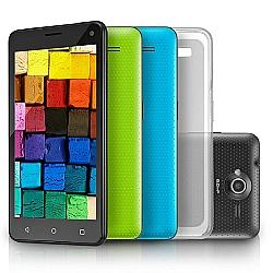 Comprar Celular Smartphone MS50 Colors Tela 5 Câmera 5.0 MP+8.0MP 3G Quad Core 8GB+8GB Android 5.0 microsd de 8GB-Multilaser