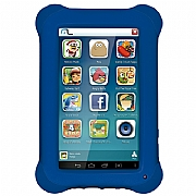 Tablet Multilaser Kid Pad Azul Quad Core Dual C�mera Wi-Fi Tela Capacitiva 7' Mem�ria 8GB