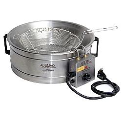 Comprar Tacho para Fritura com Bacia em Inox Capacidade 5 Litros de Óleo-Ademaq