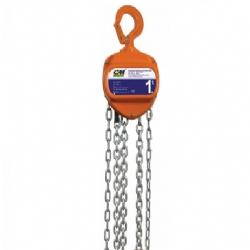 Comprar Talha manual de corrente capacidade de 0,5 tonelada com elevação 5 metros - HSZ055-CM Brasil