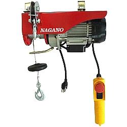 Comprar Talha Elétrica 600 Watts, 110V, Capacidade de 100 à 200 kg, Elevação 6/12 m - TE121-Nagano
