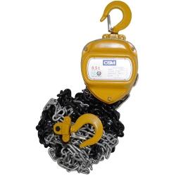 Comprar Talha manual de corrente capacidade de 0,5 tonelada com elevação 3 metros-CSM